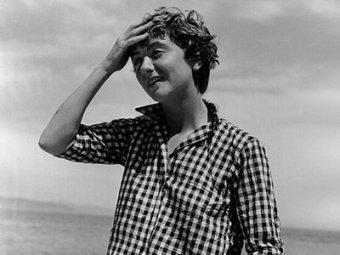 Франсуаза Саган в молодости