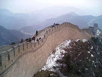 Великая Китайская стена. Фото с сайта mit.edu