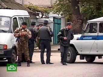 Дагестанские милиционеры. Кадр НТВ, архив