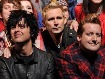 """Green Day на репетиции мюзикла """"Американский идиот"""". Фото ©AFP"""