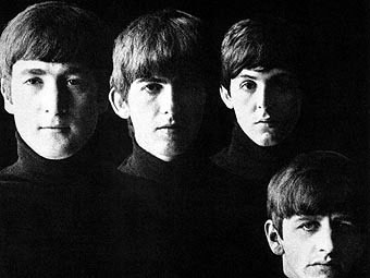 """Фрагмент обложки альбома """"With The Beatles"""""""