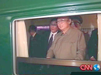 Бронепоезд Ким Чен Ира вновь заметили в Китае