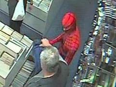 Человек-паук и джедаи предотвратили ограбление магазина комиксов