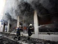 В Греции появились первые жертвы уличных беспорядков