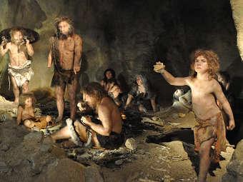 ...скрещивания неандертальцев и