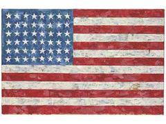 "Christie's продал ""Флаг"" Джаспера Джонса за 28,6 миллиона долларов"