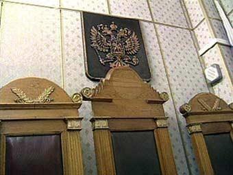 Зал заседаний Краснодарского краевого суда. Кадр телеканала НТВ