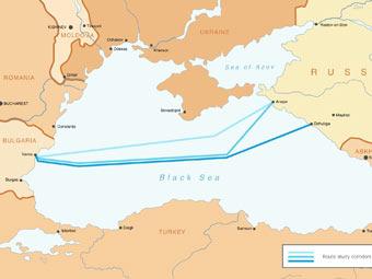 """...системы Греции, подписали в Москве соглашение о строительстве греческого участка газопровода  """"Южный поток """"."""
