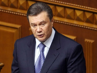 Виктор Янукович. Фото ©AFP