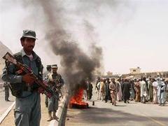 Сотни афганцев устроили марш протеста против сил коалиции