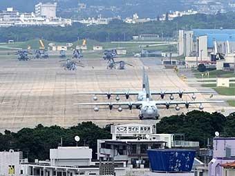 США отказались перенести базу морпехов с Окинавы