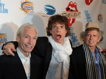 The Rolling Stones. Фото ©AFP