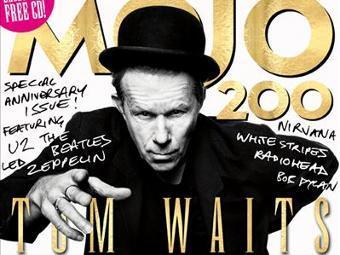 Фрагмент обложки юбилейного номера Mojo с Томом Уэйтсом