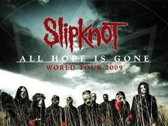 Постер концертного тура Slipknot