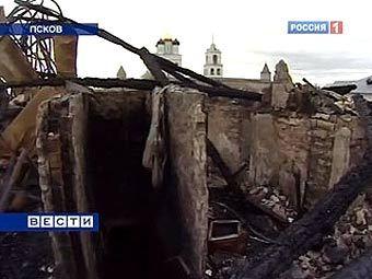 Медведев дал денег на восстановление Псковского кремля