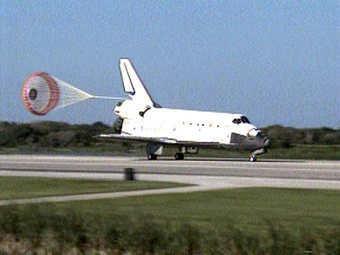 Кадр NASA TV