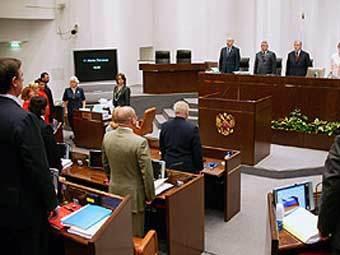 Заседание Совета Федерации РФ. Фото с сайта council.gov.ru