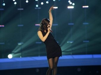 "Представительница Германии Лена на ""Евровидении-2010"". Фото ©AFP"