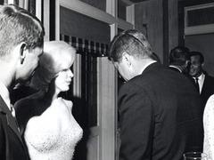 Обнародована единственная совместная фотография Монро и Кеннеди