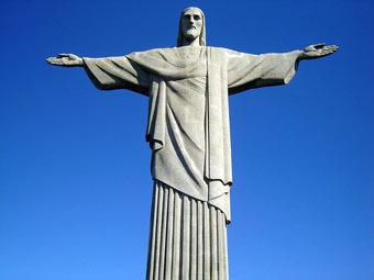 В Бразилии отреставрировали статую Христа-Искупителя