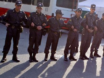 "Милиция на Триумфальной площади 31 мая. Фото Александра Котомина, ""Лента.Ру"""