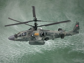 "Ка-52 ""Аллигатор"". Фото с сайта rus-helicopters.ru"
