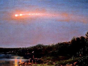 """Техасские ученые разрешили загадку """"Года метеоров"""" Уолта Уитмена"""