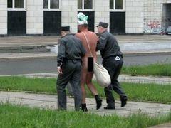 В центре Архангельска задержан голый Древарх Просветленный