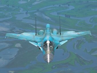 ...второй эскадрильи бомбардировщиков Су-34.