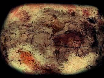 Копия наскальной росписи из пещеры Альтамира. Фото Jose-Manuel Benito