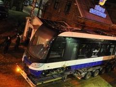 В Риге появился зловонный трамвай