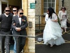 Жениха и невесту арестовали во время свадьбы