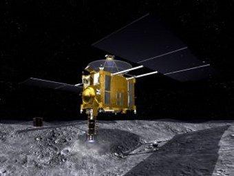 Зонд Hayabusa. Изображение с сайта Японского космического агентства