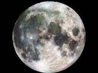 Луна. Фото NASA