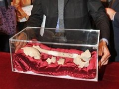 Ученые показали останки Караваджо