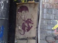 В Мельбурне украли рисунок Бэнкси