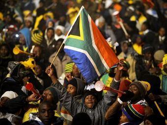 Болельщики сборной ЮАР. Фото (c)AFP