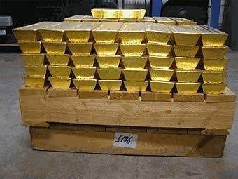Цена на золото в ходе торгов 6 октября на Нью-Йоркской товарной бирже