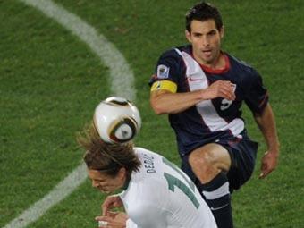 Эпизод матча Словения - США. Фото (c)AFP