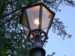 В Петербурге появились газовые фонари