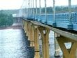 "Мост через Волгу. Кадр телеканала ""Россия-24"""
