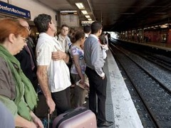 Забастовка во Франции нарушила железнодорожное сообщение
