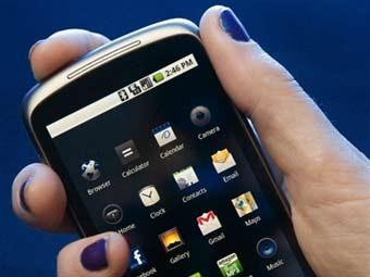 Смартфон на базе Android. Фото ©AFP