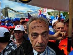Румыны попытались взять штурмом президентский дворец
