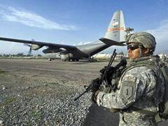 Афганские боевики напали на одну из крупнейших баз НАТО