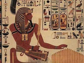 Современная копия изображения Сети I, найденного в его гробнице. Иллюстрация с сайта wikipedia.org