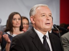 Качиньский вышел в лидеры на президентских выборах в Польше