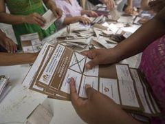 Мексиканская оппозиция заявила о победе на региональных выборах