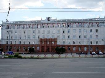 Здание Академии наук Молдавии. Фото Zserghei