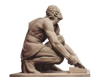 Неизвестная скульптура Микеланджело. Фото с сайта Discovery News
